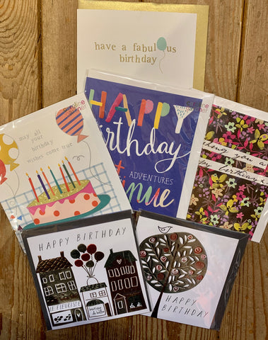 Square Birthday Card Bundle