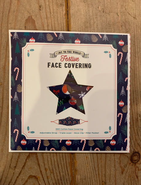 Christmas Face Covering