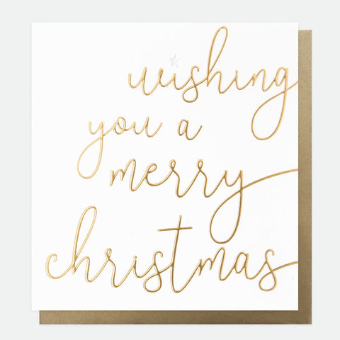 Wishing You a Merry Christmas Card Pack