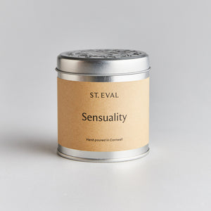 Sensuality Scented Candle Tin from St Eval