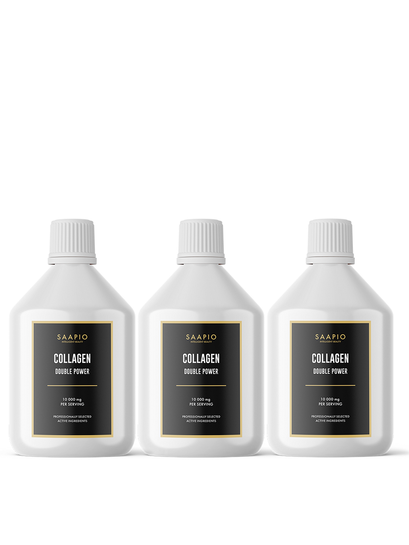 3x KOLAGĒNS DOUBLE POWER (500 ml)