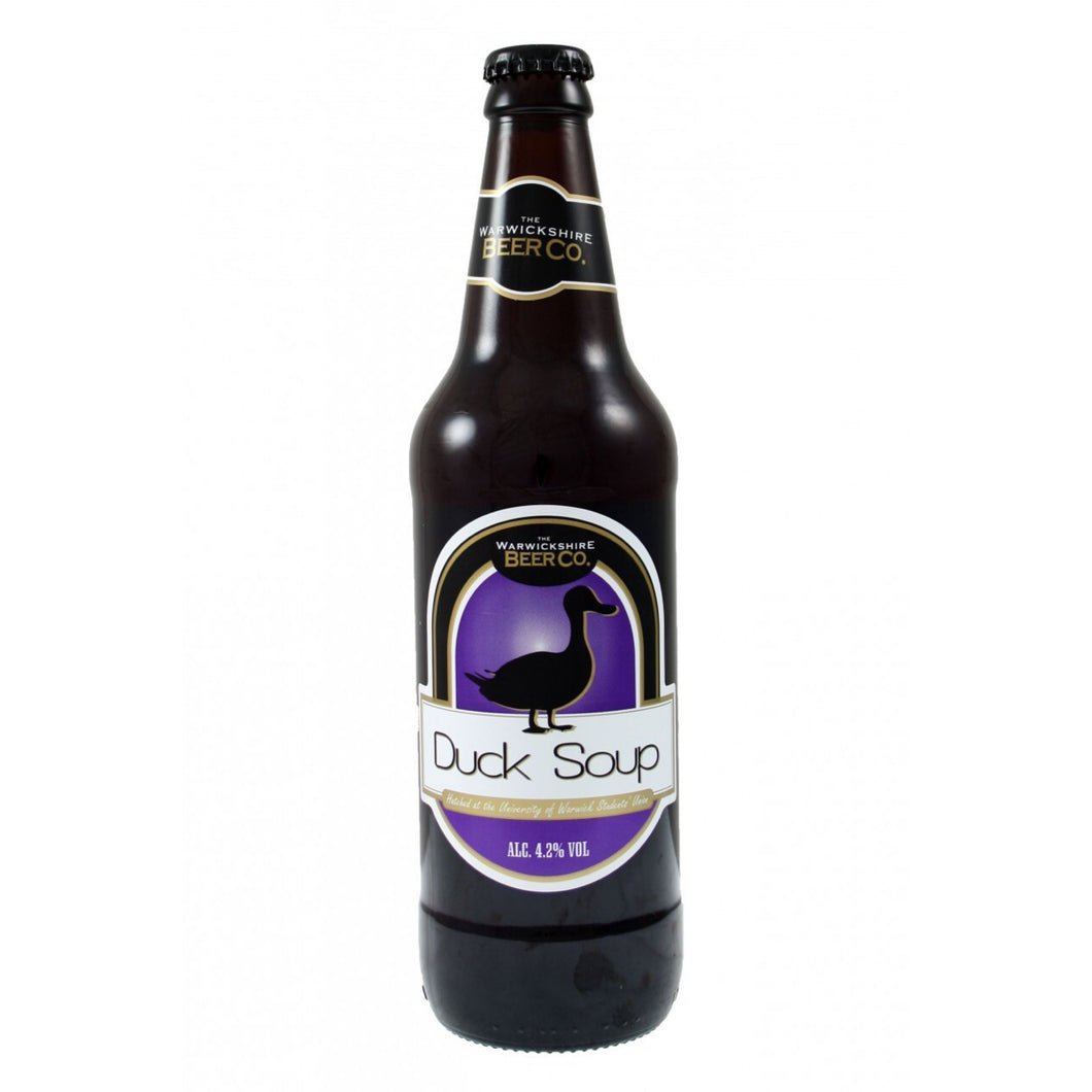 Duck Soup 4.2% ABV 12x500ml by Warwickshire Beer Company