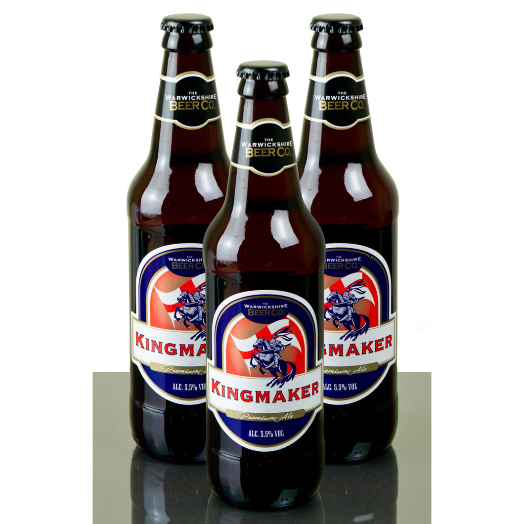 Kingmaker 5.5% ABV 12x500ml by Warwickshire Beer Company