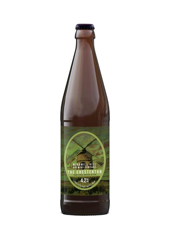 The Chesterton 4.2% ABV 500ml 12 Pack by Windmill Hill Brewing Co.