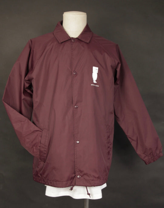SUPER DUPER COACH JACKET BORDEAUX