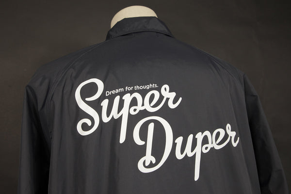 SUPER DUPER COACH JACKET BLUE