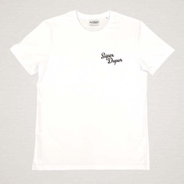 TEE-SHIRT SUPER DUPER WHITE