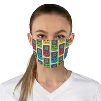 Gameboy Color Doodle Fabric Face Mask
