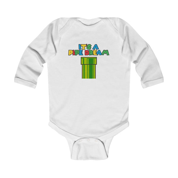 Pipe Dream Infant Long Sleeve Bodysuit