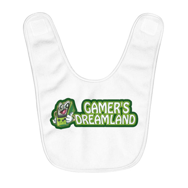 Gamer's Dream Land Baby Bib