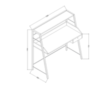 Load image into Gallery viewer, Kids Study Table - KT12