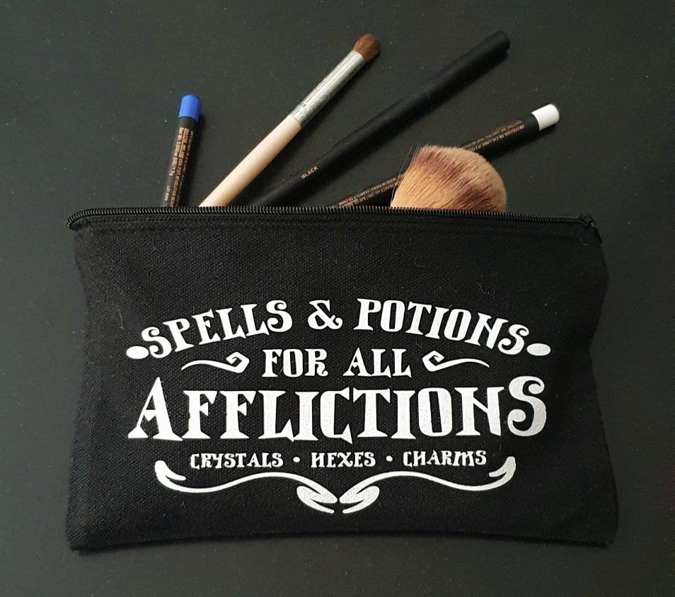 Witchy Canvas Pouch