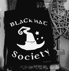 Black Hat Society Tote Bag