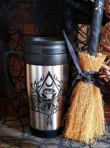Moth Third Eye Travel Mug
