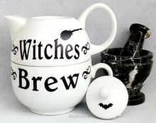 Load image into Gallery viewer, Witches Brew Teapot & Cup Set (for one)