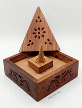 Load image into Gallery viewer, Pyramid Incense Holder