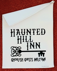 Haunted Hill Inn Tea Towel