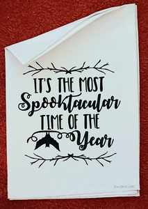 Spooktacular Tea Towel
