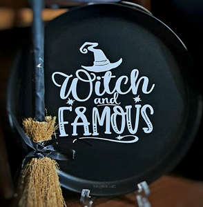 Witch & Famous Plate