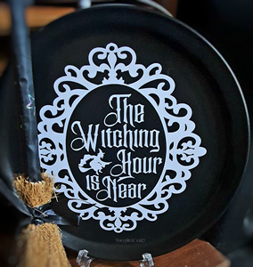 The Witching Hour Plate