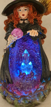 Load image into Gallery viewer, LED Witch Backflow Incense Holder