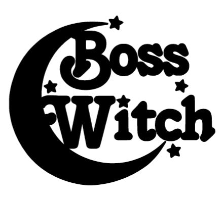 Boss Witch Decal