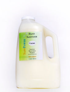 Hand Sanitizing Creme & Liquid