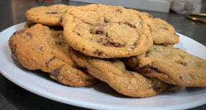 Golden Chocolate Chip Cookies