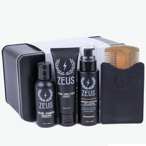 Zeus Refined Essential Beard Care Kit