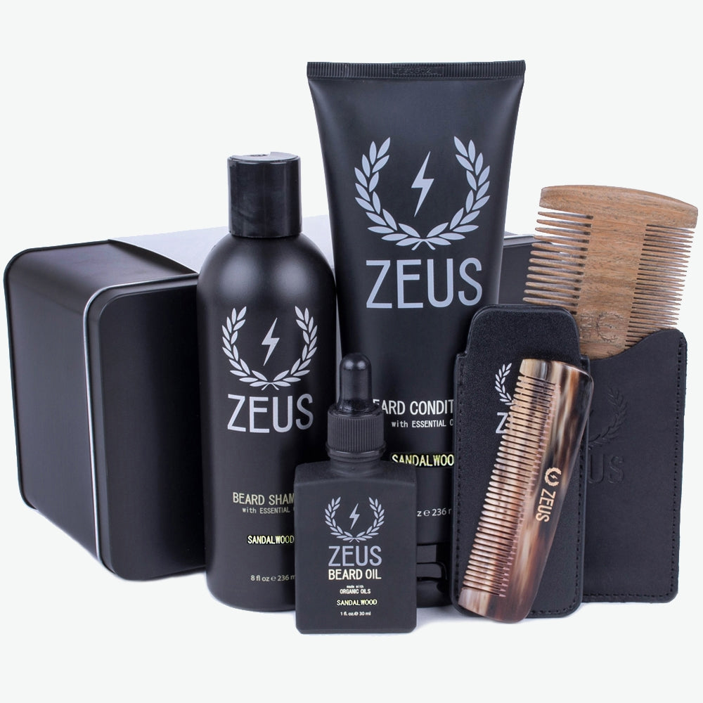 Zeus Executive Beard Care Kit - Sandalwood