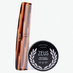 Zeus Pomade Styling Set, Clay Pomade