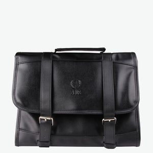 Zeus Genuine Leather Hanging Dopp Bag