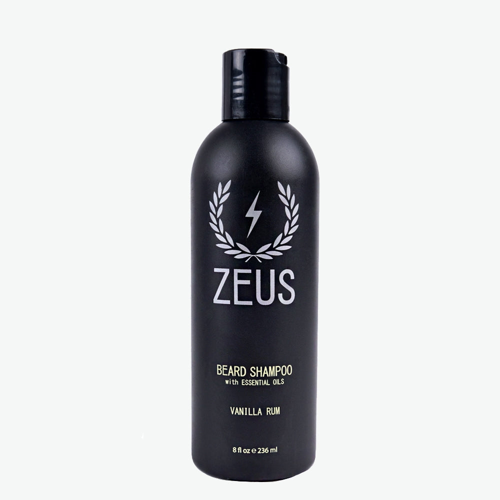 Load image into Gallery viewer, Beard Shampoo Wash 8 fl oz, Zeus Vanilla Rum