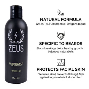 Zeus Deluxe Beard Care Kit
