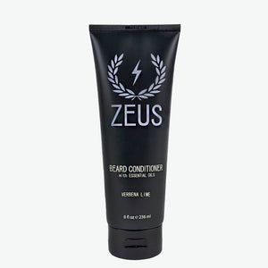 Beard Conditioner and Softener 8 fl oz, Zeus Verbena Lime