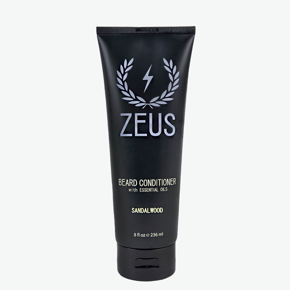 Beard Conditioner and Softener 8 fl oz, Zeus Sandalwood