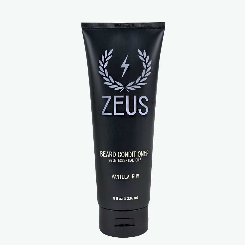 Beard Conditioner and Softener 8 fl oz, Zeus Vanilla Rum