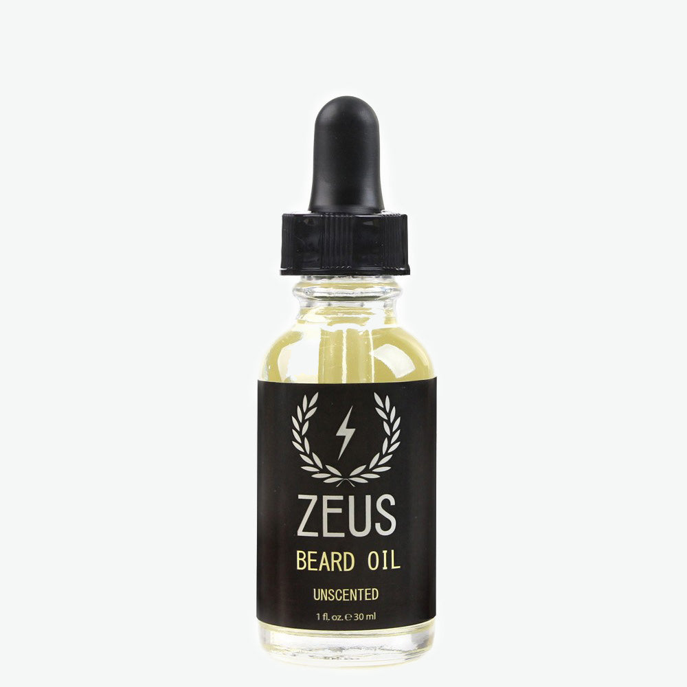 Beard Oil,  Zeus Natural Unscented