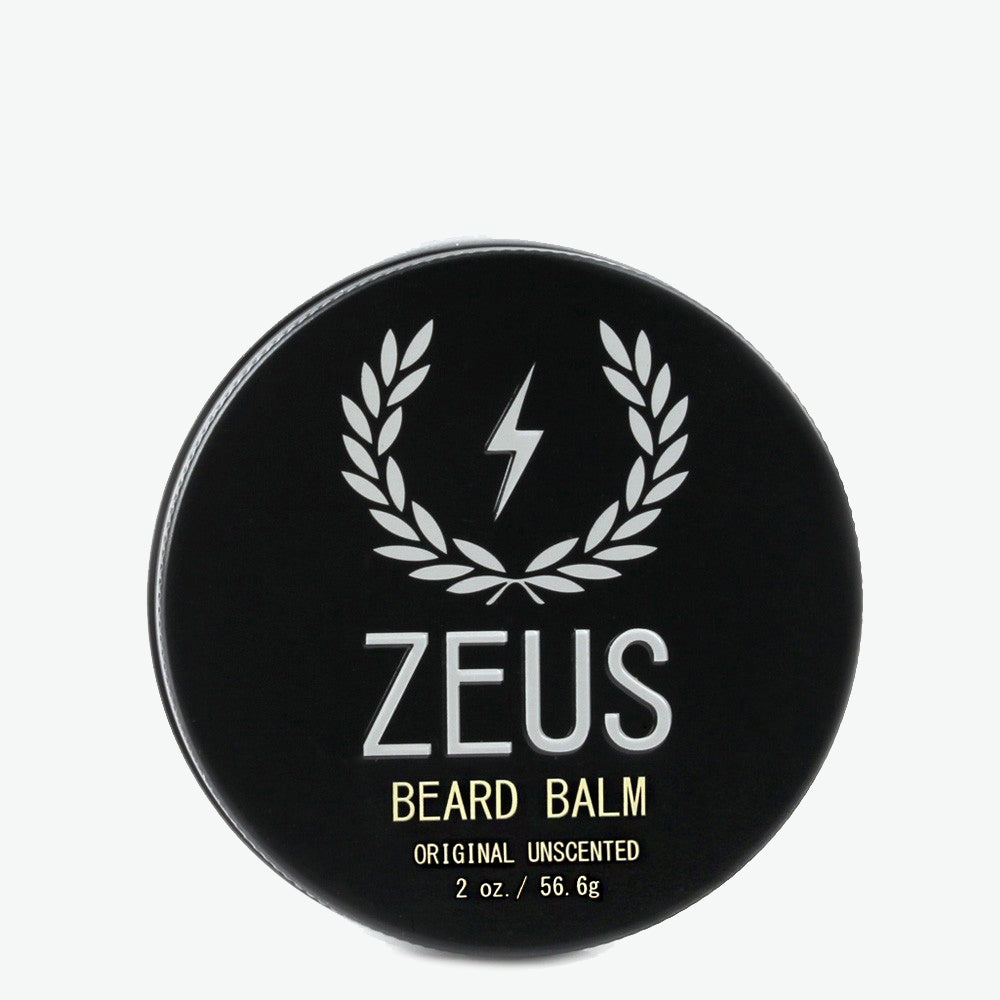 Beard Balm Conditioner, Zeus Original Unscented 2 oz.