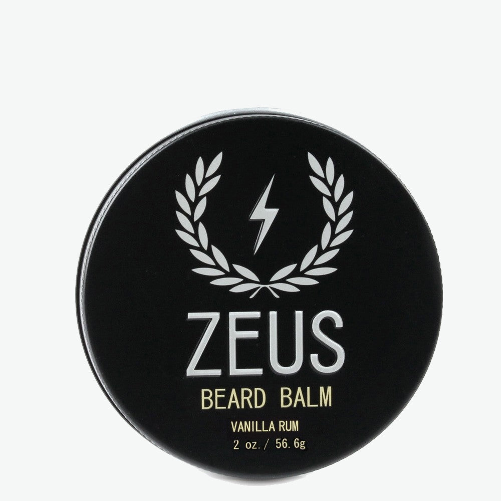 Beard Balm Conditioner, Zeus Vanilla Rum 2 oz.