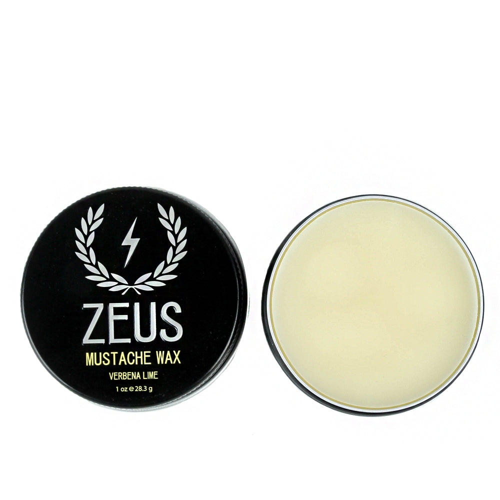 Load image into Gallery viewer, Mustache Wax, Zeus Verbena Lime 1 oz