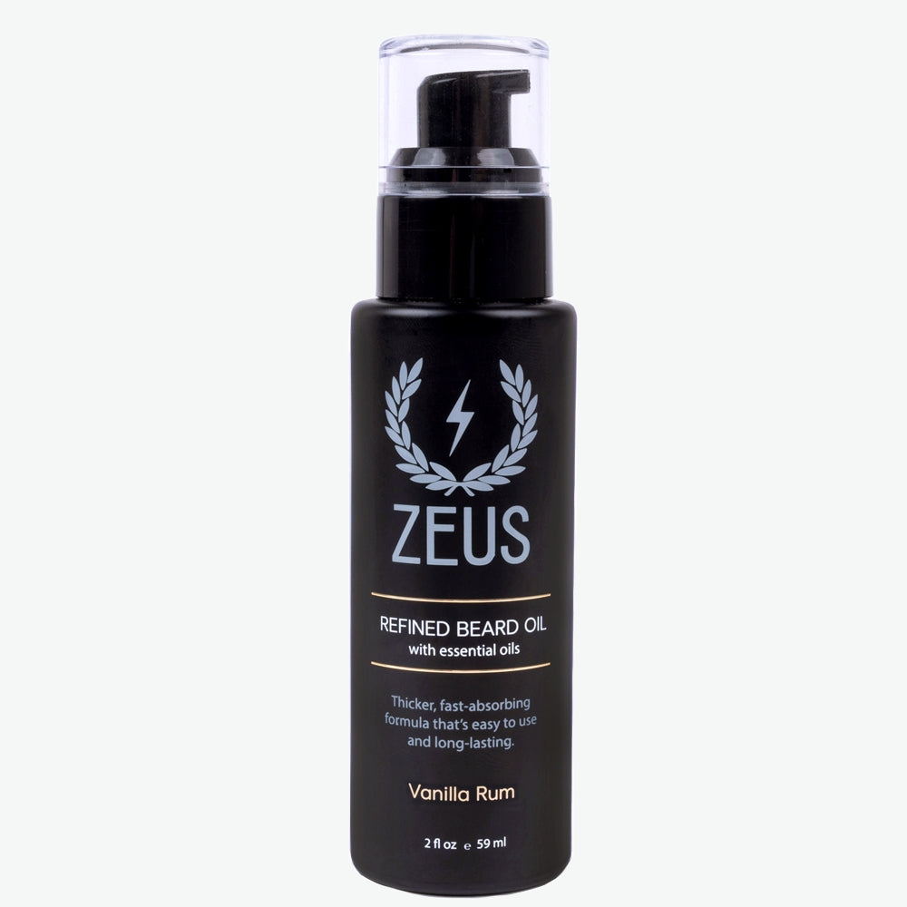 Load image into Gallery viewer, Zeus Refined Beard Oil, Vanilla Rum