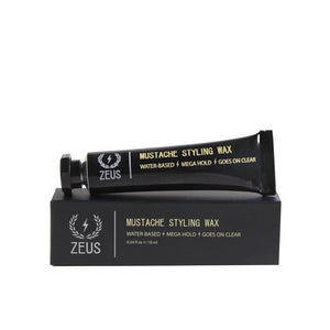 Zeus Mustache Styling Wax, Mega Hold