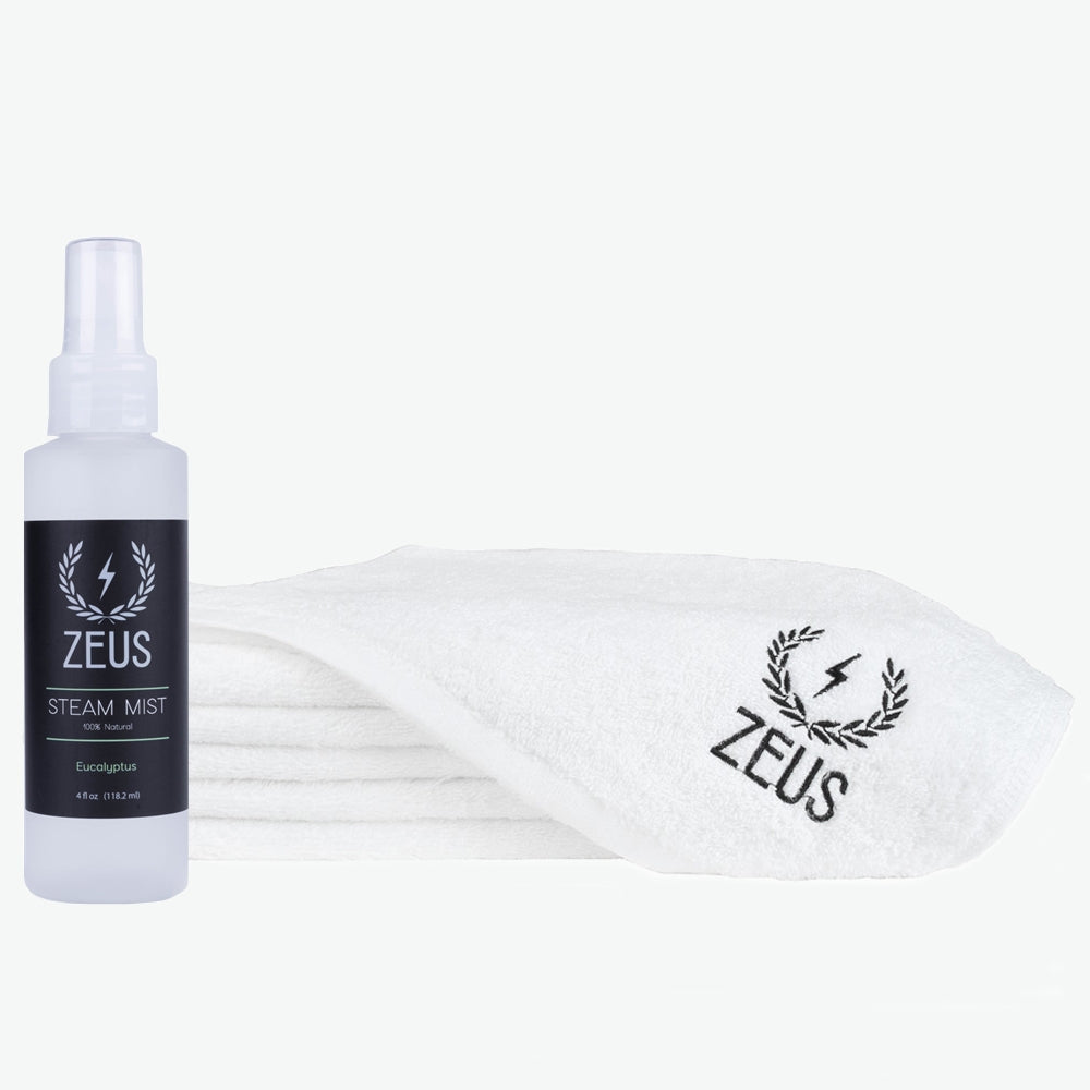 Zeus Steam Mist and Towel Set