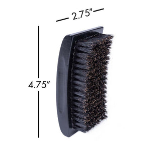 Zeus Palm Hair Brush, Beech Wood & 100% Boar Bristle