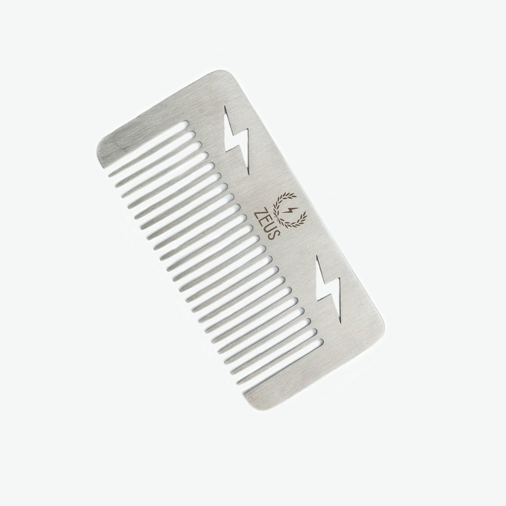 Zeus Stainless Steel Comb Pocket Size - D21