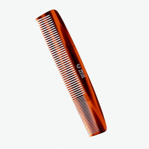 "Load image into Gallery viewer, Zeus 7.5"" Handmade Saw-Cut 2-in-1 Beard & Mustache Comb - C11"
