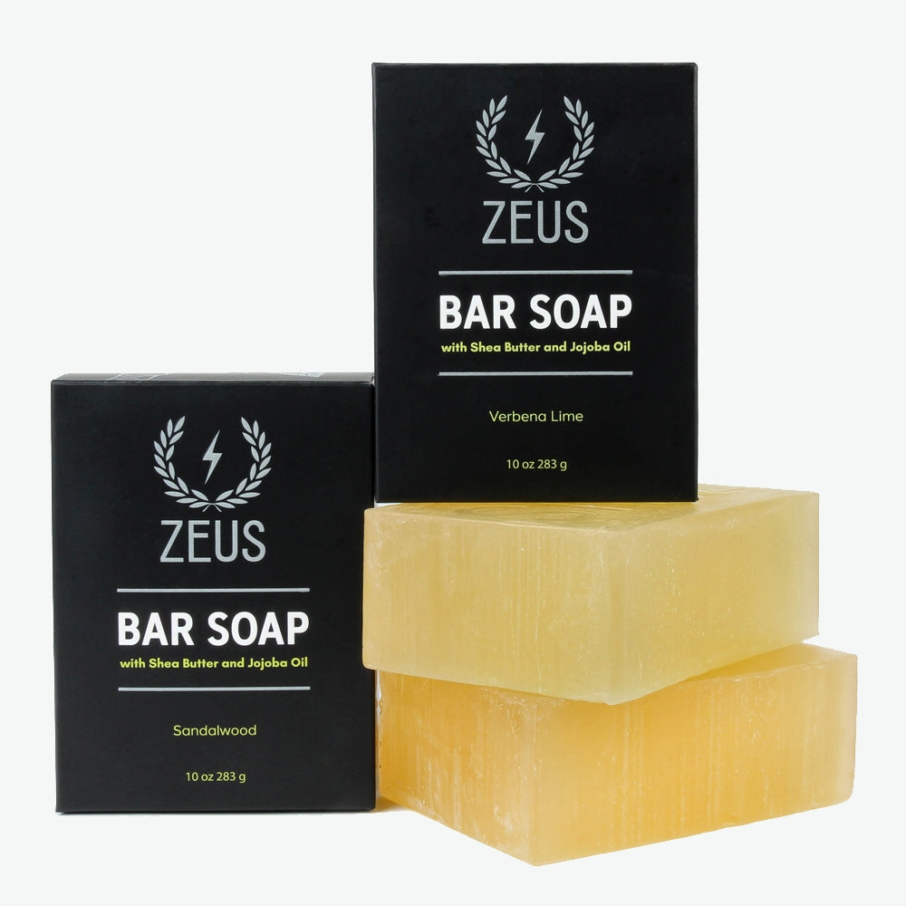 Zeus Bar Soap, 10 oz. - Mix Pack