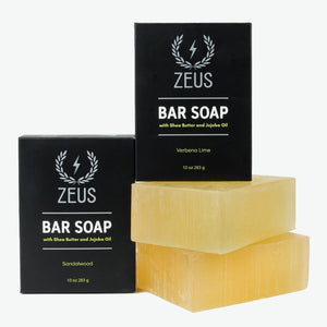 Load image into Gallery viewer, Zeus Bar Soap, 10 oz. - Mix Pack