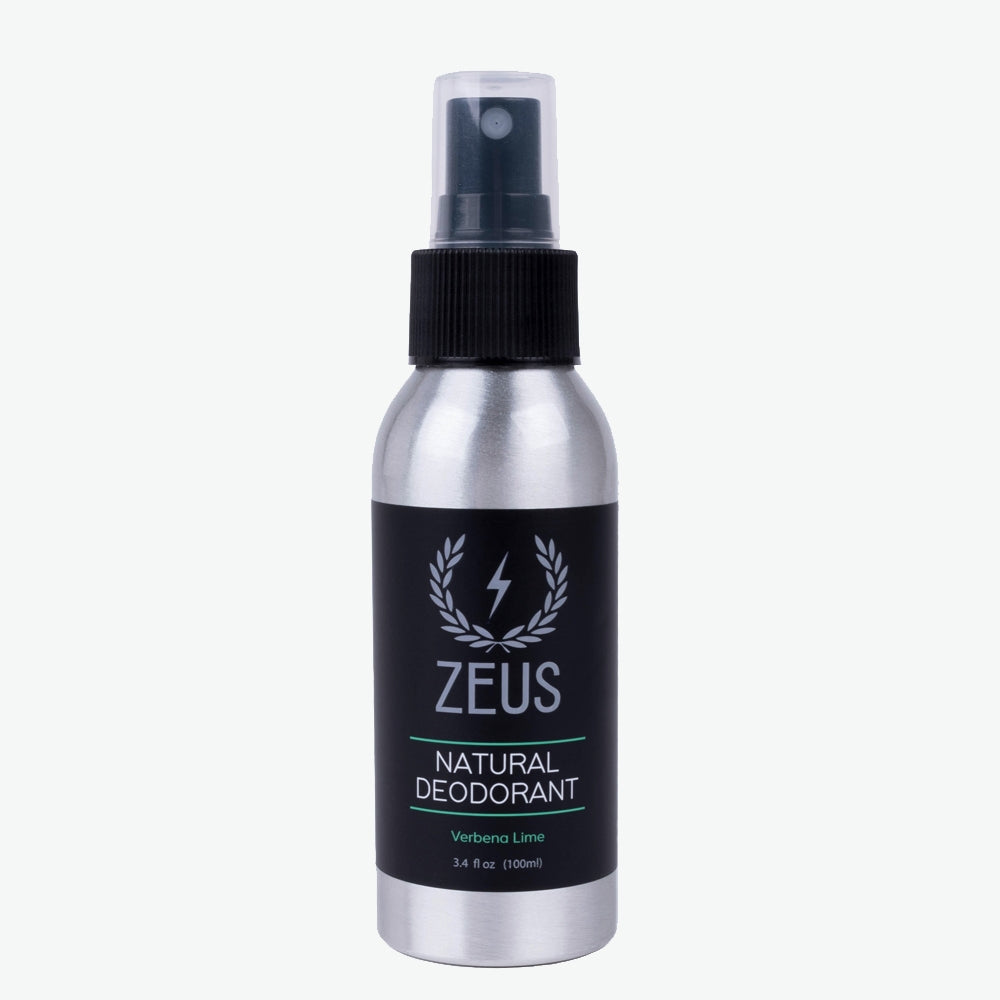 Load image into Gallery viewer, Natural Deodorant Spray, Zeus Natural Verbena Lime